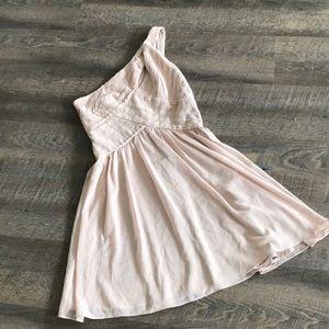 Dresses & Skirts - Adorable one shoulder dress!